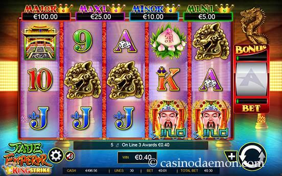Jade Emperor slot screenshot 1