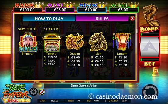 Jade Emperor slot screenshot 4