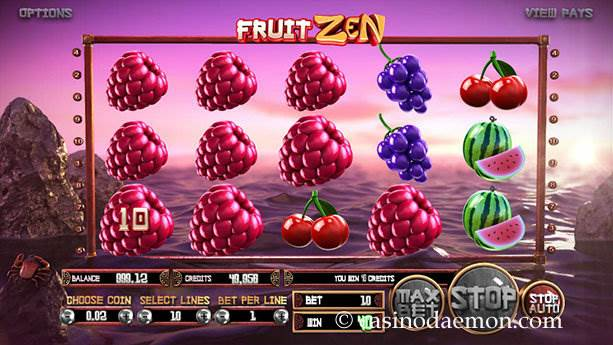 Fruit Zen slot screenshot 2