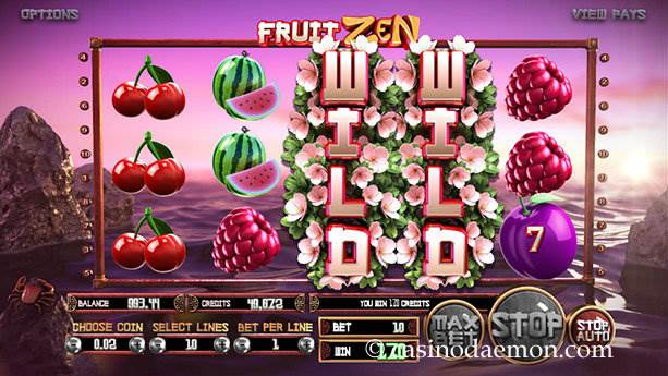 Fruit Zen slot screenshot 4