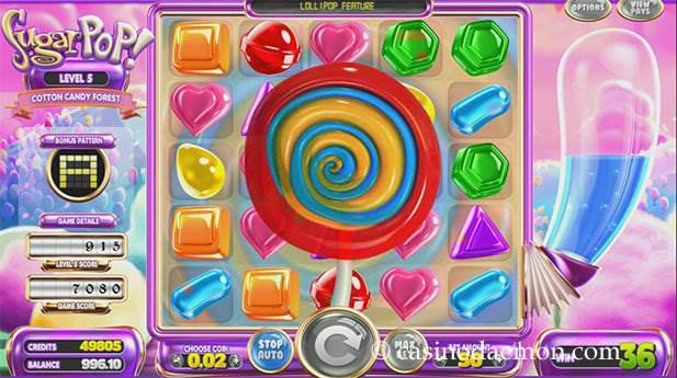 SugarPop Spielautomat screenshot 3