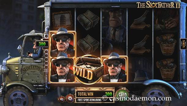 The Slotfather Part II slot screenshot 3