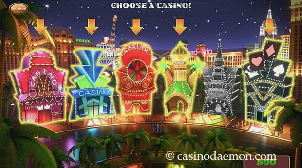 Weekend in Vegas slot screenshot 3