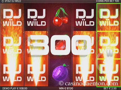 DJ Wild slot screenshot 2