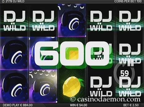 DJ Wild Spielautomat screenshot 3