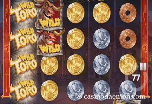 Wild Toro slot screenshot 1