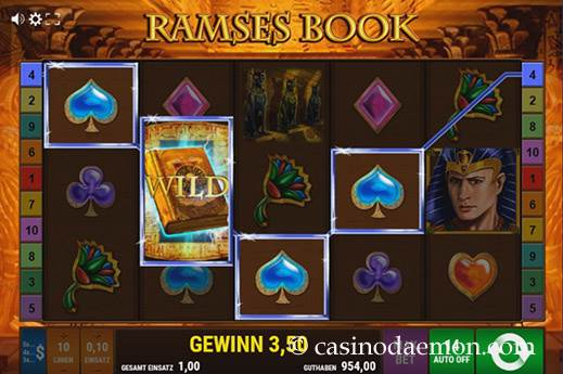 Ramses Book Spielautomat screenshot 1