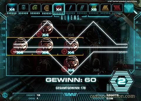 Aliens Spielautomat screenshot 4