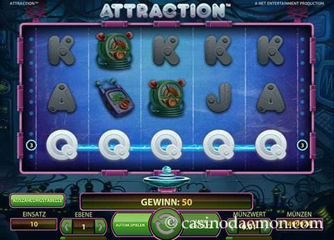 Attraction Spielautomat screenshot 1