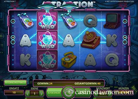 Attraction Spielautomat screenshot 2