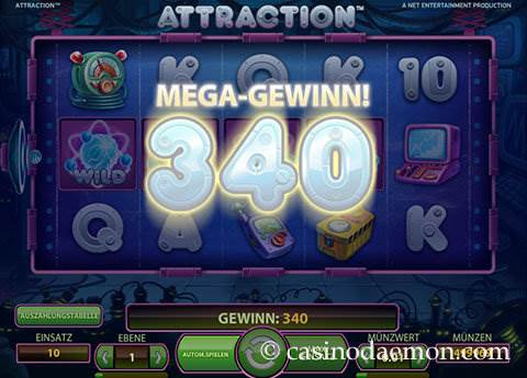 Attraction Spielautomat screenshot 3