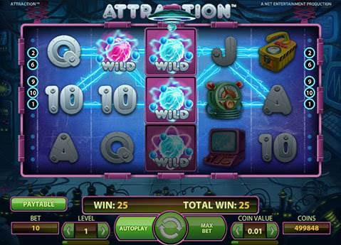 Attraction slot screenshot 1