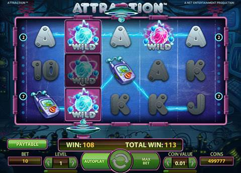 Attraction slot screenshot 2