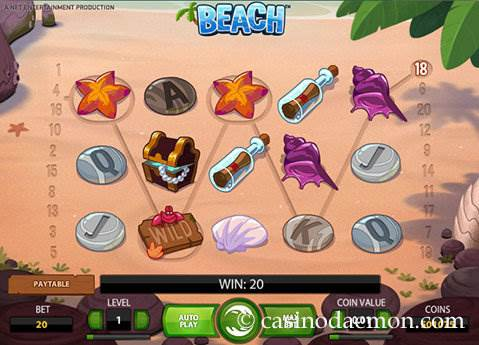 Beach slot screenshot 1