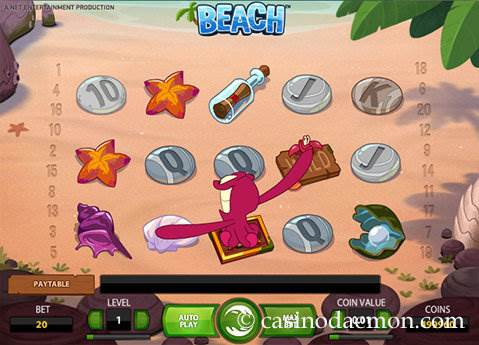 While dreaming you can at least give it a try and why not with one of the sunniest video slots developed by NetEnt.Beach theme.Enjoy a sweet summertime, even while it's in the middle of the winter, just by playing the Beach™ video slot as not only the theme is based on a sandy beach, even the reels in this 5-reel and 20 bet lines counting.Kızılpınar