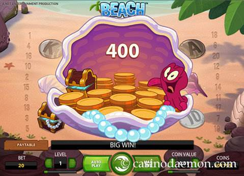 Beach slot screenshot 3