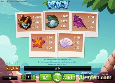 Beach slot screenshot 4