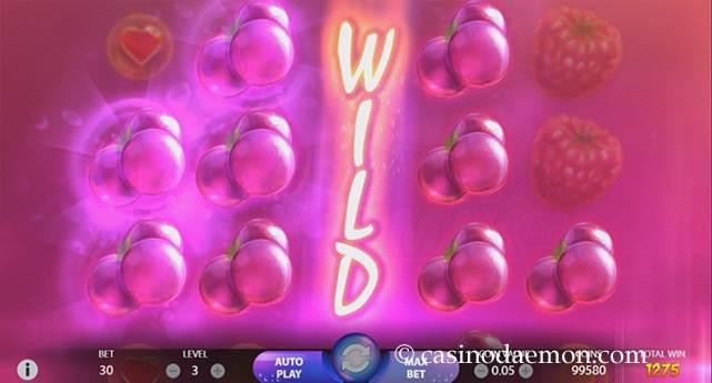 Berryburst Max Spielautomat screenshot 2