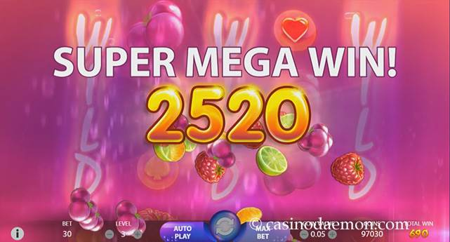 Berryburst Max Spielautomat screenshot 3