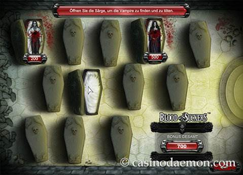 Blood Suckers Spielautomat screenshot 4