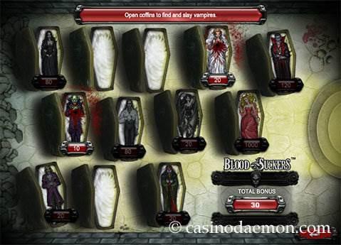 Blood Suckers slot screenshot 3