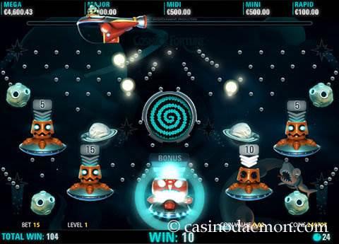 Cosmic Fortune slot screenshot 2