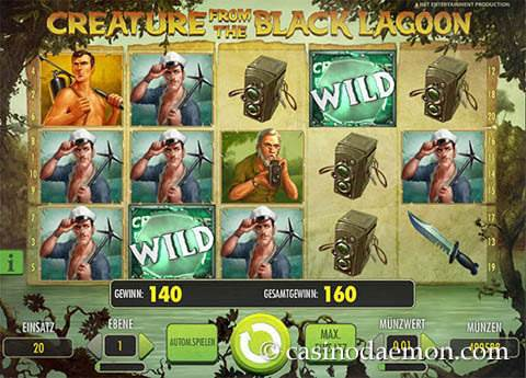 Creature From the Black Lagoon Spielautomat screenshot 1