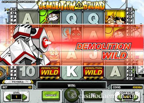 Demolition Squad slot screenshot 3