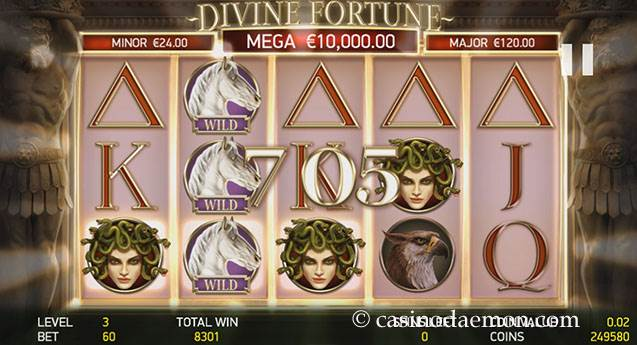 Divine Fortune Spielautomat screenshot 2