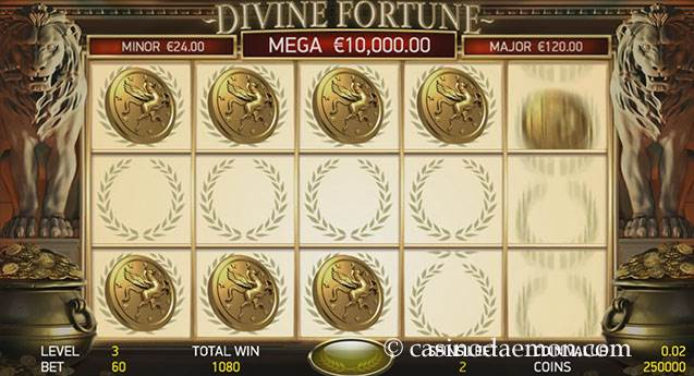 Divine Fortune Spielautomat screenshot 3