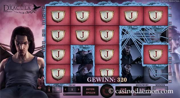 Dracula Spielautomat screenshot 1