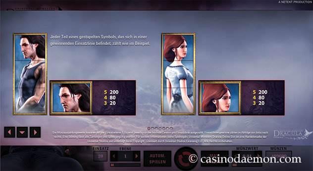 Dracula Spielautomat screenshot 4