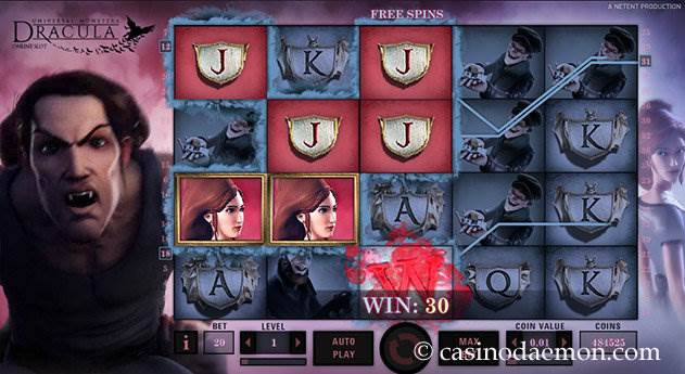 Dracula slot screenshot 1