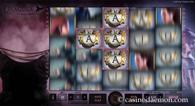 Dracula slot screenshot 2
