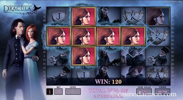 Dracula slot screenshot 3