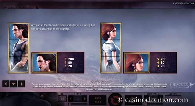 Dracula slot screenshot 4