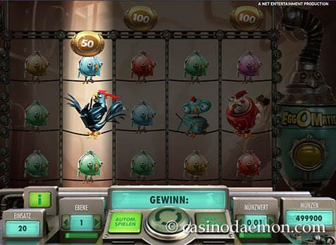EggOMatic Spielautomat screenshot 2