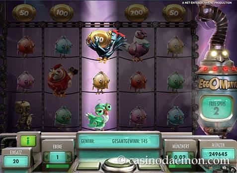 EggOMatic Spielautomat screenshot 4