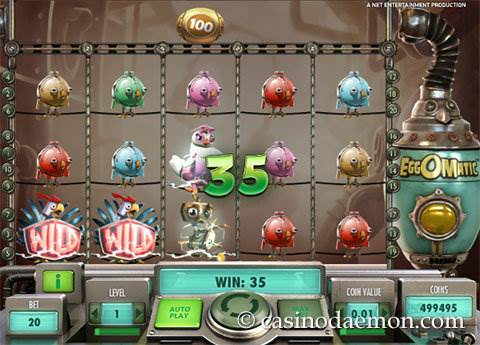 EggOMatic slot screenshot 1