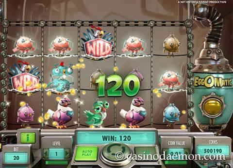 EggOMatic slot screenshot 2