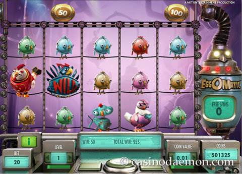 EggOMatic slot screenshot 3