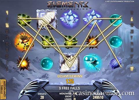Elements Spielautomat screenshot 2