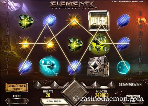 Elements Spielautomat screenshot 4