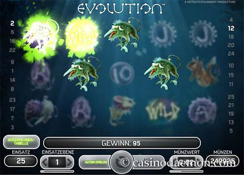 Evolution Spielautomat screenshot 1
