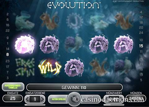 Evolution Spielautomat screenshot 2