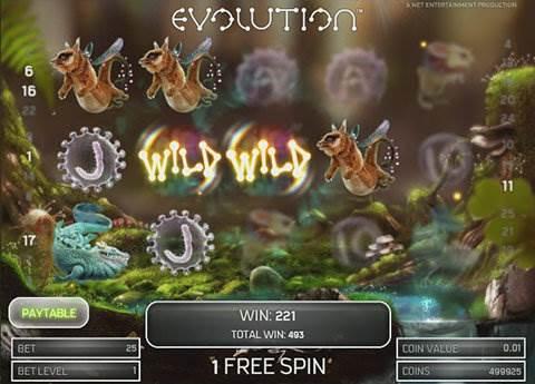 Evolution slot screenshot 3