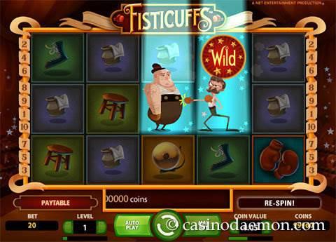 Fisticuffs slot screenshot 1
