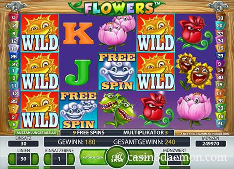 Flowers Spielautomat screenshot 1