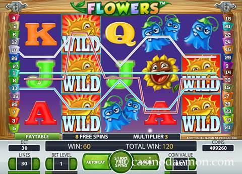 Flowers slot screenshot 2