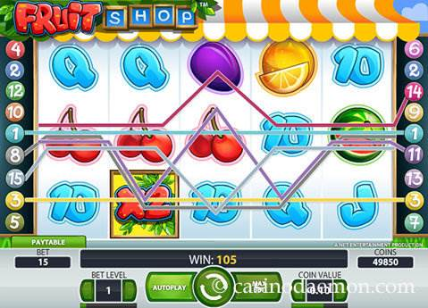 Fruit Shop slot screenshot 1